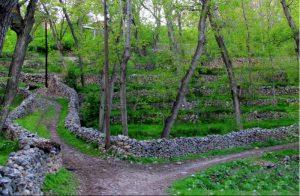 خوانسار - کوچه باغ های خوانسار
